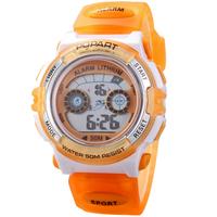 Children Digital Watches Cartoon Watches Student Kids Sports Multifunction Military LED 50M Waterproof Wristwatch Jelly Watch