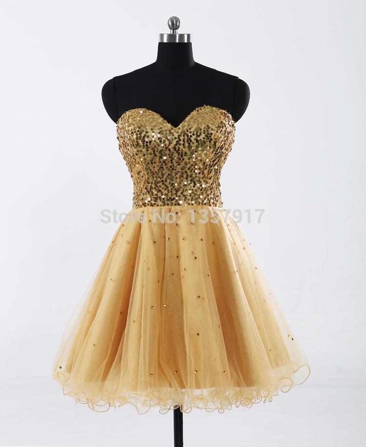 Gold corset dresses