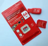Hot Memory card 128MB 8GB 16GB 32GB 64GB Micro SD card class 10 +SD Transfer adapter +Card reader +Cartoon box+Free shipping