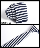 knitted Ties neck Tie Men's necktie Solid Polyester wool high quality ZZLD-035