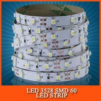 LED Strip 3528 SMD fiexible light 60Led/m,5m 300Led,DC 12V,White,Warm White,Red,Green,Blue,Yellow,RGB