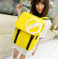 2014 new fashion travel bump color large capacity leisure female backpack