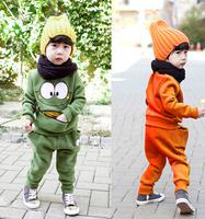 New 2014 children clothing set boys clothes set autumn children outerwear kids long sleeve clothes tops fashion 2 color