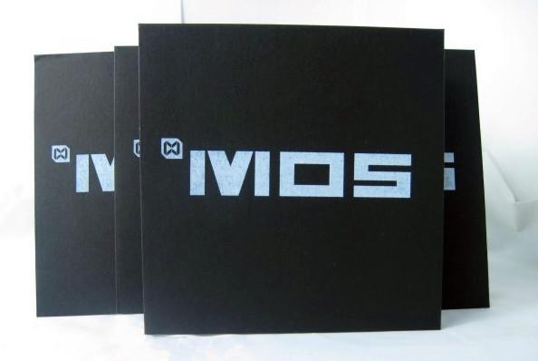 Customized 100pcs Black Cardboard CD DVD Disc Storage Bag Envelope Sleeve CD Paper Bag With Foil Printing, Free Shipping(China (Mainland))