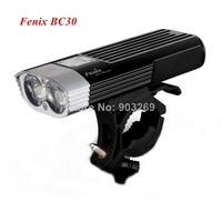 1pc Fenix BC30 Cree XM-L2 T6 1800 Lumens Bicycle Light 5 Mode Bike Light By 2* 18650 Battery + Free Shipping