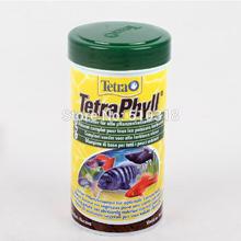 Tetra Phyll 52g 250ml Aquarium FISH FOOD Feed for Vegetarian Plant-Eating Algae-Eating Tropical Fish(China (Mainland))