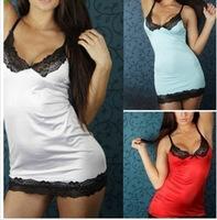 2014 Fashion Women Lady Sexy Lace Sling Strap Lingerie Sleepwear Dress Underwear Nightwear G-string GLW-LQ-1038