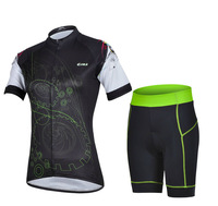 Women Cycling Jerseys Fashion Women Sportswear set Cycling Clothing Free Shipping