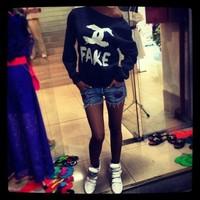 Fashion Printed Hoodie 2013, Autumn/Winter Women's Sportswear,Cool Women Tops Coat