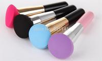 2014 hot sale The hydrophilic sponge makeup brush ,Liquid Cream Foundation Sponge Brush