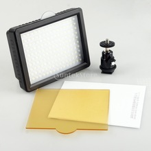 12 5W 160 LED Photo Video Camera Flash Strobe Light Lamp w Soft Box for CANON