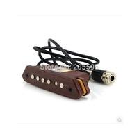 2pcs  wooden acoustic guitar adjustment volume tone soundhole pickups