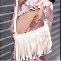2014 New Fashion Women Ladies Adorable Tassel Shoulder Messenger Bag Hand Style Satchel Purse Bags Freeshipping