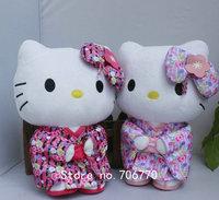 "IN HAND!!  choose ONE Japanese Sanrio 12""  32cm Hello Kitty PINK Kimono  KT Plush Doll Plush Toys Kawaii Stuffed Toys free ship"