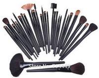 Professional Makeup Brushes 32pcs set  Brushes portable full Cosmetic brush tools Foundation Eyeshadow Lip brush kits set tools