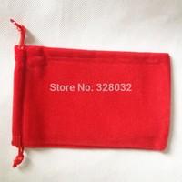 Free shipping 50pcs soft Long Villus Velvet Mobile power bank Drawstring pouch bag jewelry gift wedding bags Size 10*16CM