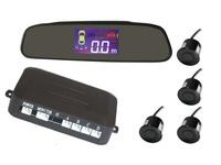 lsqSTAR Professional Car Parking Sensor Reverse PZ502 Backup Radar System with Backlight Display + 4 Sensors