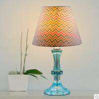 2014 new creative fashion minimalist living room den bedroom lamp bedside lamp (2PCS) / bag decorative lights learn Eye