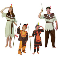 Hot cos adult Halloween costumes Indian clothing