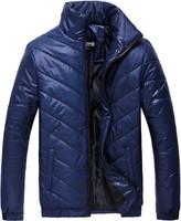 3XL Men Warm Jacket 2014 Mens Winter Jackets Men's Hooded Wadded Casual Overcoat Male Slim Cotton-padded Coats  Z313