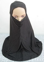 ML0105 black big muslim hijab islamic scarf free shipping by DHL