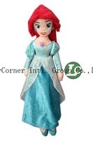 Free Shipping The Little Mermaid Ariel Plush Toy Doll Sea-maid Toys 53cm