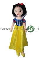 EMS Snow White Princess Stuffed Toys Girls Plush Dolls GiftsToys For Kids Free Shipping 53cm 20pcs/lot