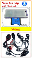 DHL 2013.3 Keygen Quality A+ LED connector black tcs cdp pro plus + for CARS / TRUCKS Generic 3 in 1+car cables