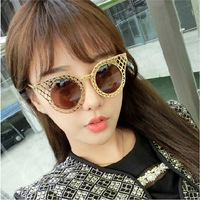 2014 real sale adult 5330 ode to the same paragraph you hyun thousand iraqi sunglasses fashion from circular hollow grid stars