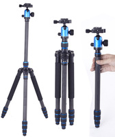 Blue Professional KL666 DSLR Camera Carbon fibre Tripod Monopod with Ball Head