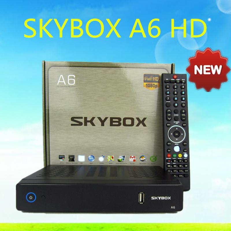 10 stück original skybox a6 full hd 1080p suporte modem 3g em vez x5 pro wifi openbox Rezeptor de Satellit Super- usb frete gratis