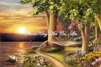 handpainted  impressional landscape oil painting on canvas fine art home decor FJI1147 60x90cm
