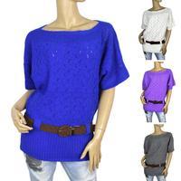 2014 new  winter fashion style sweater coat women's sweaters women's knitwear render sweater with belfs free shipping 8305