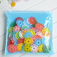 Sanwony 2014 new arrival 150pcs Quality Snowflake Blocks Educational Baby Intelligence Toys Free shipping&Wholesale(China (Mainland))