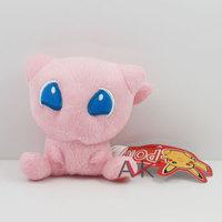 free shipping 10pcs/lot 12cm Pokemon toy mewtwo pink square head dream Pikachu soft plush doll stuffed animal
