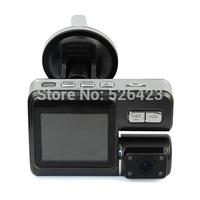 "2 Digital Camera Camcorder 2.0"" LCD HD 720P Car DVR Driving Recorder"