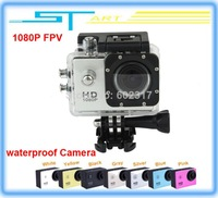 2014 Newest Original Action Sport DVR Diving Waterproof Camera 1080P Full HD Gopro Style for Drone X350 pro FPV rc he helikopter