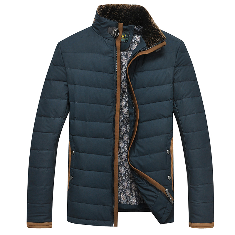 Men's down jacket of 2014 autumn winters is recreational the coats and jackets(China (Mainland))