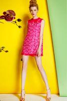 Silk Georgette Dress-1751/Fashion Women Party Dresses/2014 Summer New Desigual Cute Mini Dress/S,M,L