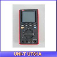 free shipping UNI-T UT81A Digital Wave Multimeter AC DC Volt Amp Ohm Capacitance Hz Tester