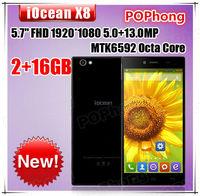 5.7 inch smartphone iocean x8 FHD 1920*1080 MTK6592 Octa Core 2G RAM 32G ROM 13.0MP