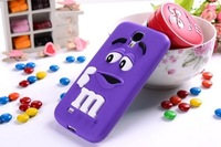 New Silicone case M bean for Samsung Galaxy S4 i9500