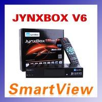 1pc Original JynxBox Ultra HD V6 with JB200 module build in wifi Support USB PVR HDMI JynxBox V6 North America Free Shipping