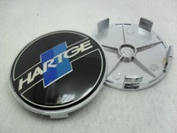 4*  Car badge sticker on wheel Center Cap sticker for HARTGE 68mm