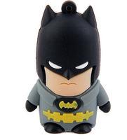AC123 new Cartoon The Avengers Batman Model pen drive 2.0 USB flash drives Thumb memory Stick pendrive boy gift
