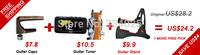 Save$4 Buy them together 1pc guitar ukulele stand+ 1pc chromatic guitar bass ukulele violin tuner +1pc guitar capo capotraste/