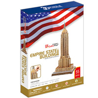 Promotion Gift Cubic Fun 3D Puzzle Toy Empire State Building Model DIY Puzzle Toy MC048h