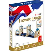 Promotion Gift Cubic Fun 3D Puzzle Toy Tower Bridge (UK) Model DIY Puzzle Toy MC066h