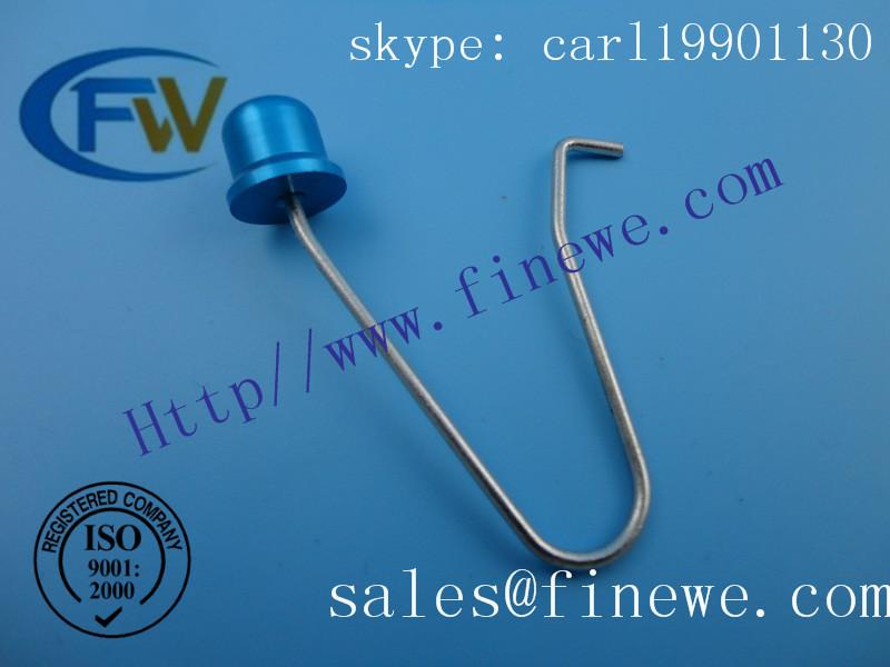 Tent Pole Push Button locking spring Snap Clip Locking Tube Pin(China (Mainland))