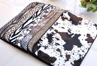 50*80cm leopard carpet for living room outdoor doormat room mat  free shipping